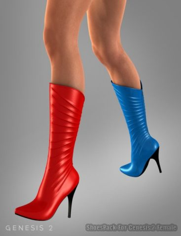 Shoe Pack For Genesis 2 Female(s)