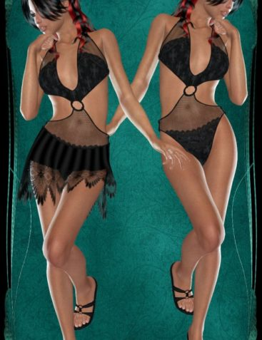 ~Chic~ for Delia V4 / A4 by plus3d, Mairy, 3Dream