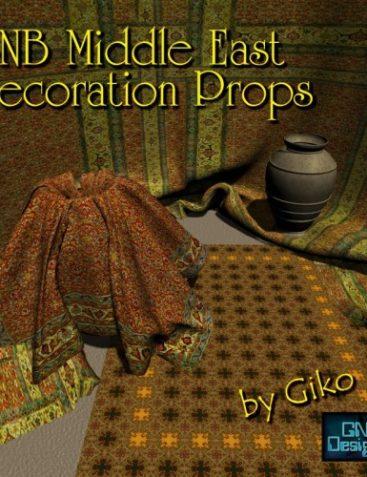 GNB ME Decoration Props