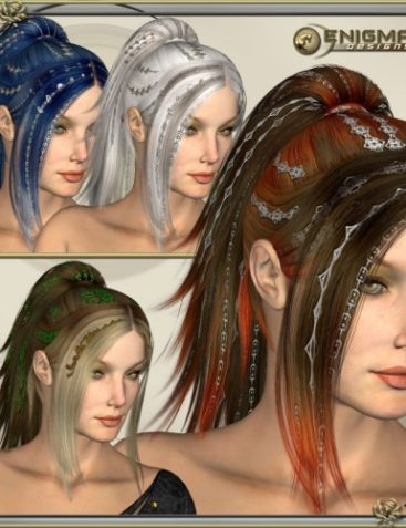 * DejaVu Colors - Real Hair and Styles for DejaVu Hair *