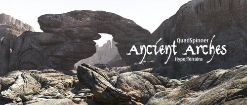 Ancient Arches HyperTerrains