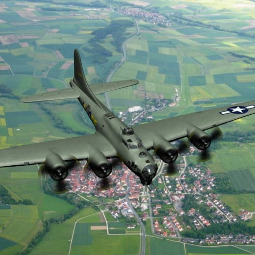 Flying Fortress (for Poser)