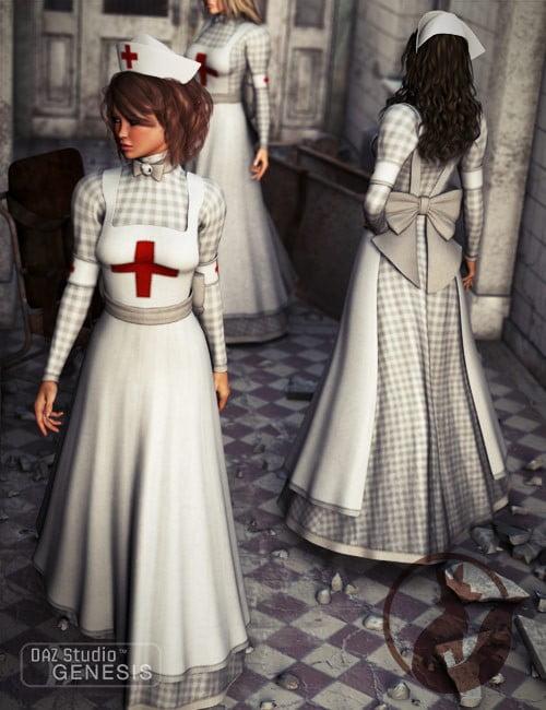 b0d9d94b092 Victorian Nurse ⋆ 3d-stuff Community