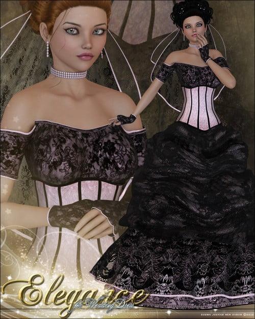 Elegance for Wedding Dress