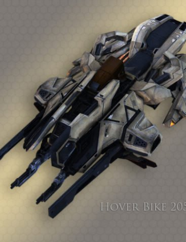 Hoverbike 2051D