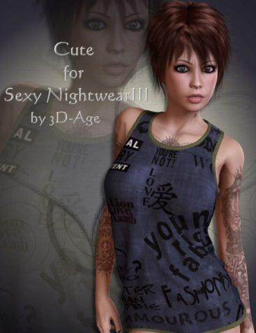 Cute for Sexy Nightwear III