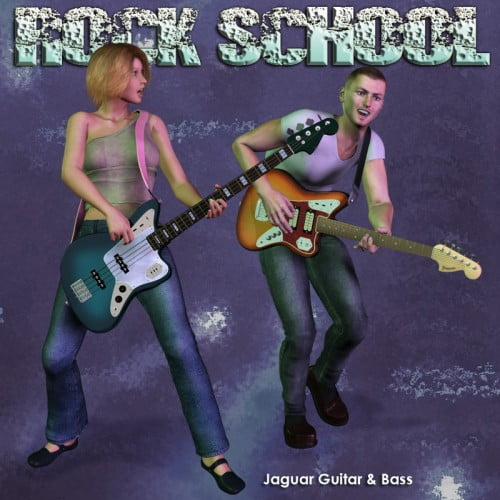 Rock School Jaguar Lead & Bass