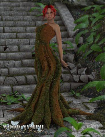 RW Wood Nymph for Genesis 2 Female(s)