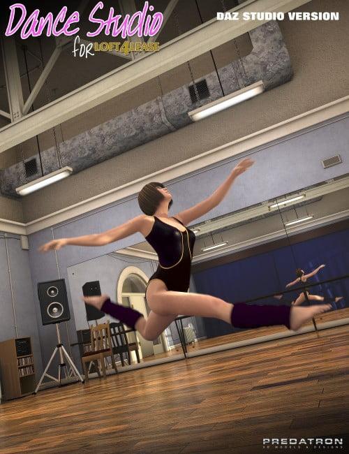Dance Studio Add-On (DAZ Studio)