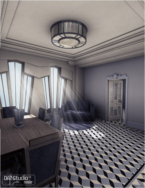Maison Cubiste for Classic Deco: Eclectic 1