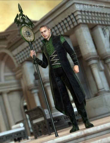 Asgard Cleric for Genesis 2 Male(s)