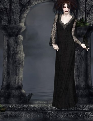 Sombre Dynamic Gowns for V4