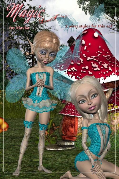 DA - Magic for Love Fairy for Mavka by smay