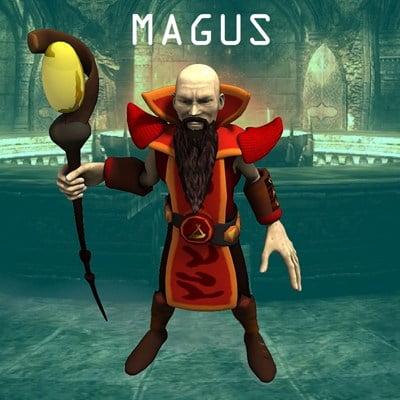 Magus (for Poser)
