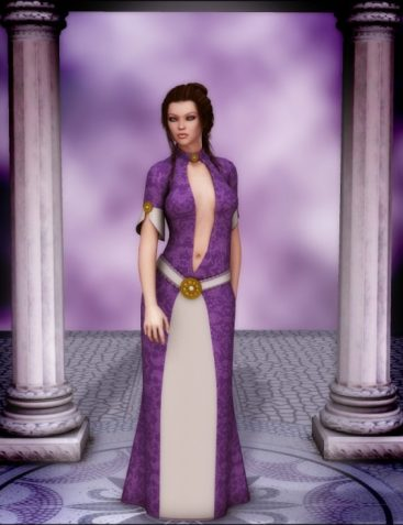 Ladies of the Court: Vivianna Dress for V4