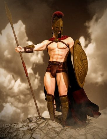 Mec4D The Spartan for Genesis 2 Male(s)