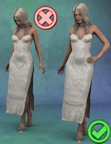 Clothing Smoothers for DAZ Genesis 2 Female(s)