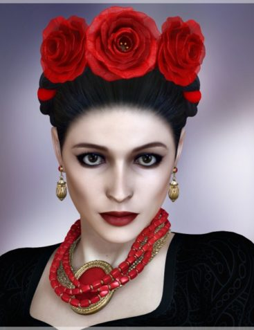 Frida Collection - Hair & Jewelry