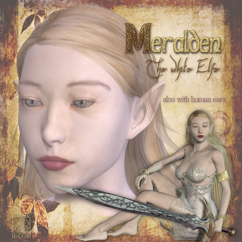 Meralden the white Elfe