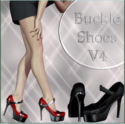 Buckle Shoes for V4