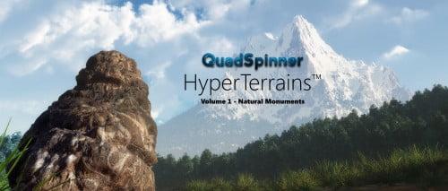 QuadSpinner HyperTerrains - Natural Monuments