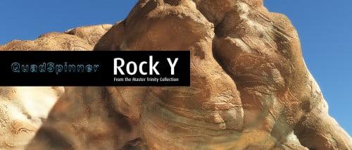 QuadSpinner Rock Y - Master Trinity Collection