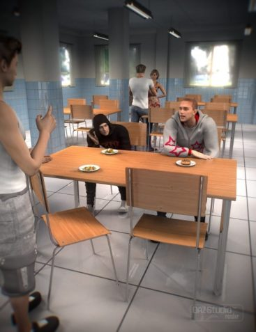 Cafeteria Eating Area