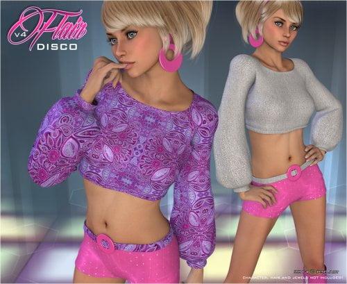 Disco Flair - V4 Outfit