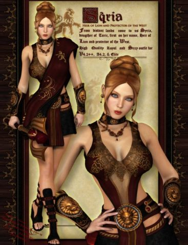 Syria Outfit for V4, A4 & Elite