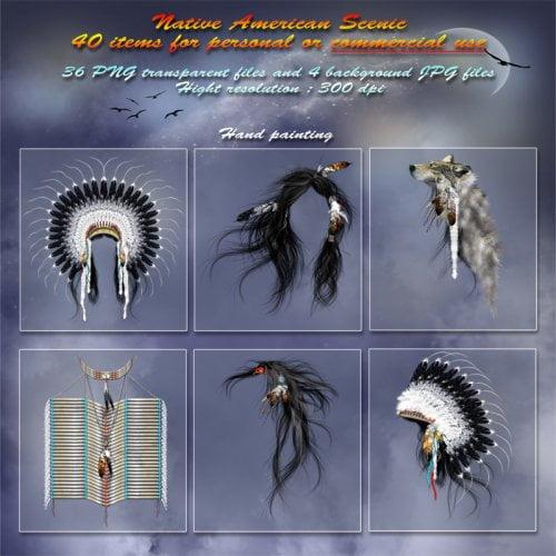 Native American Scenic