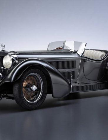 Mercedes-Benz SS Roadster 1930 Erdmann&Rossi retro legend sport cabriolet