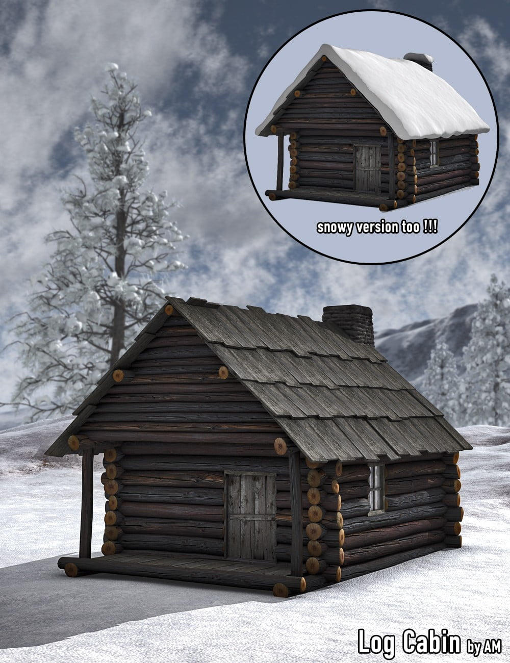 Log Cabin by AM