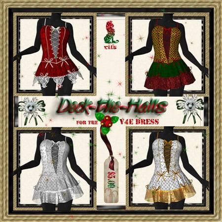 Deck the Halls for V4E Dress