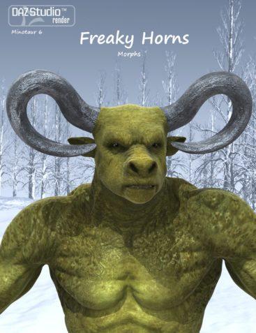 Freaky Horns for Minotaur 6 Horns
