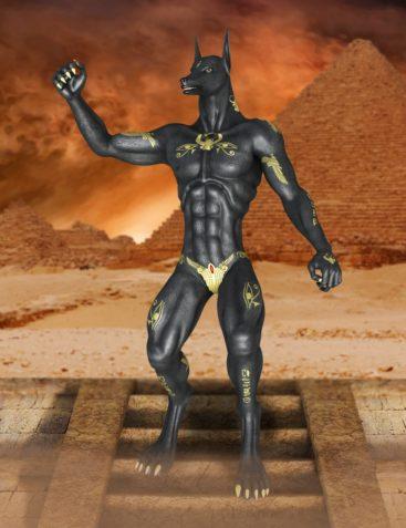 Genesis 2 Male Anubis