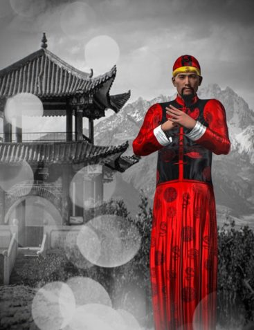 Mec4D Chinese Traditional Outfit Genesis 2 Male(s)