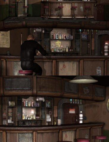 Post-Apocalyptic Bar