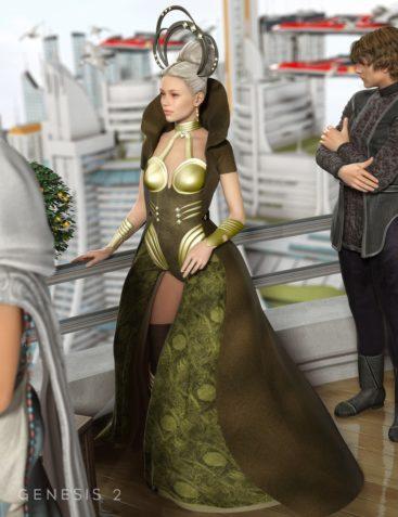 GIS Empress for Genesis 2 Female(s)