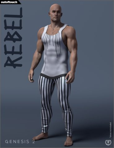 Rebel Outfit for Genesis 2 Male(s)