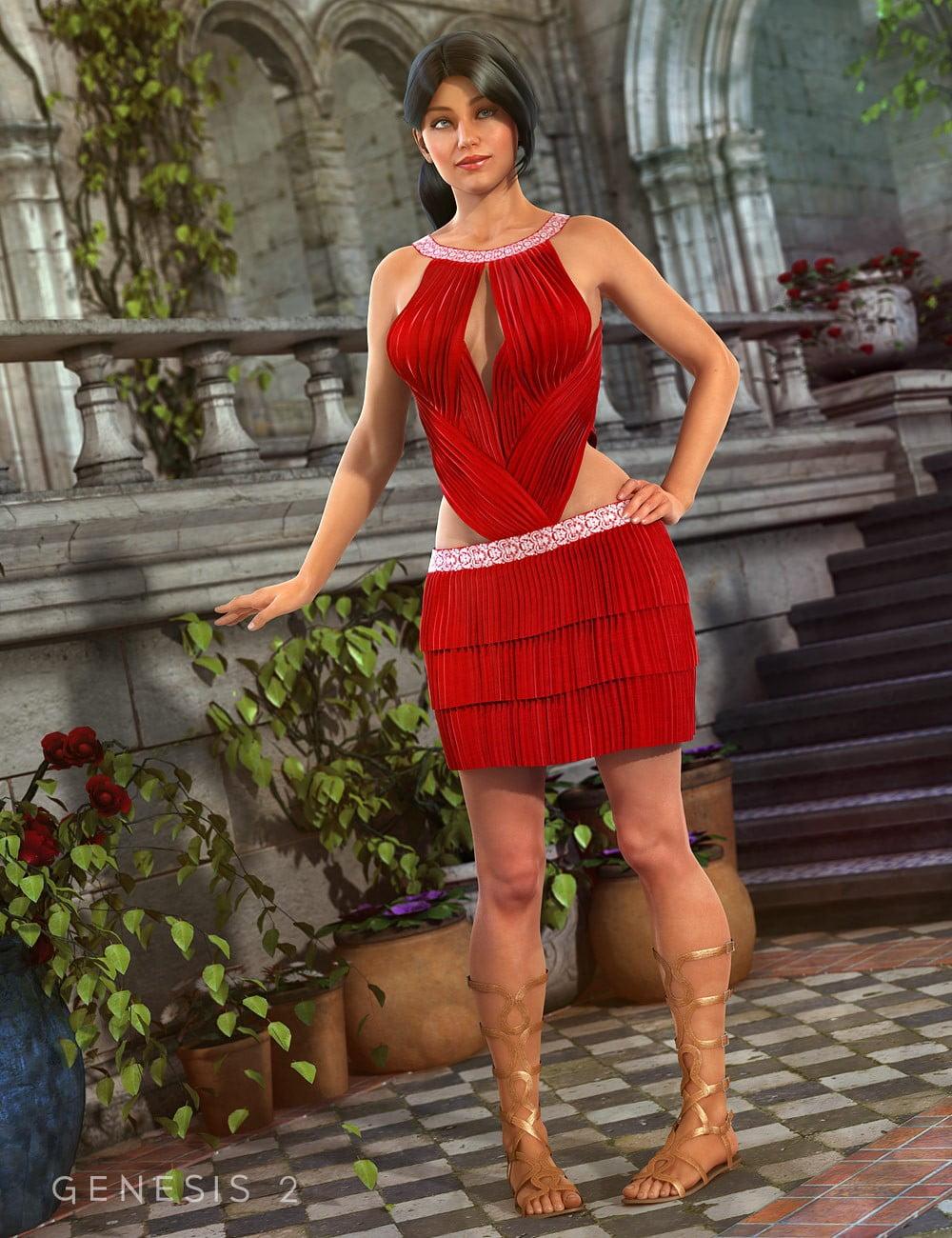 Elisabetta Dress for Genesis 2 Female(s)