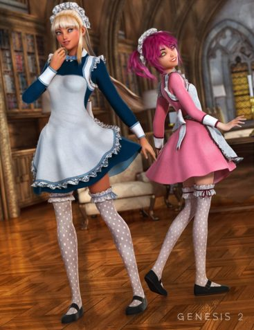 The Maid Outfit Textures