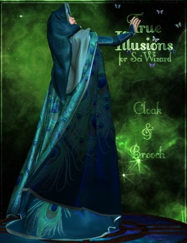 True Illusions for SciWizard Cloak and Brooch