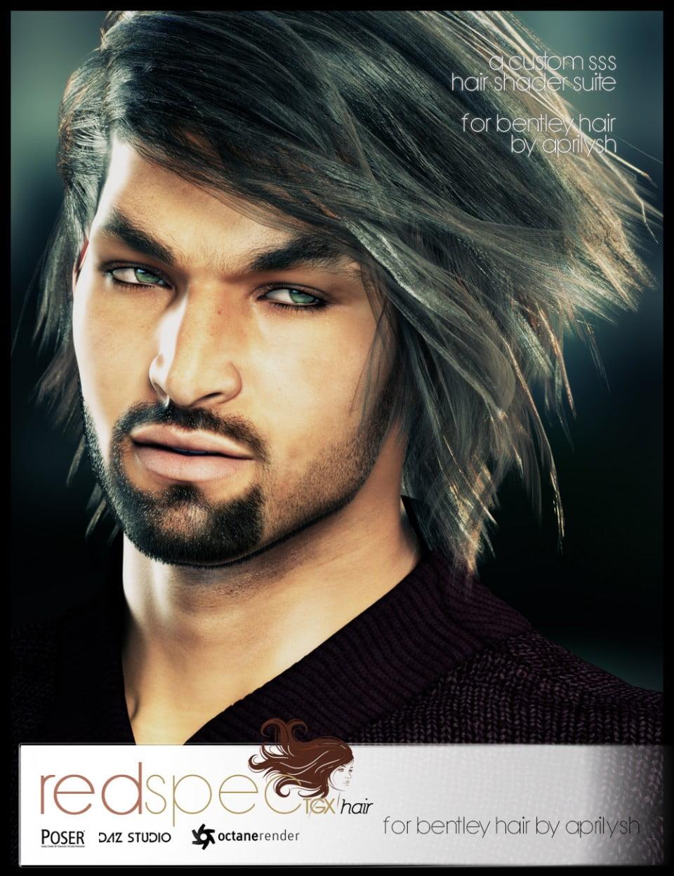 RedSpec TGX Hair Octane Shaders for Bentley Hair by AprilYSH