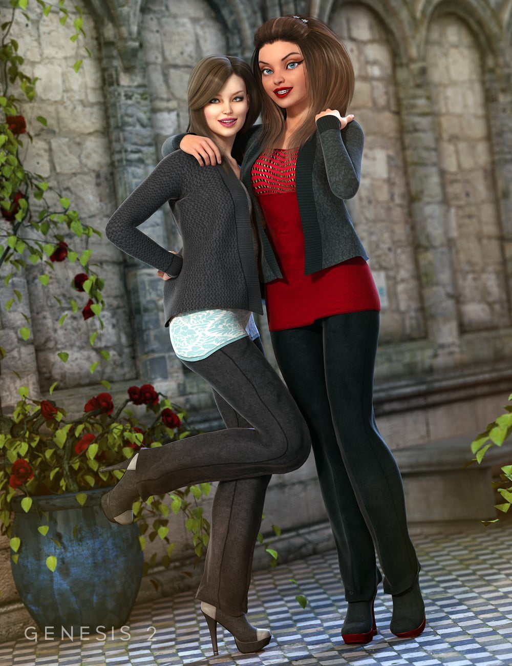 Smart and Sassy Outfit Textures