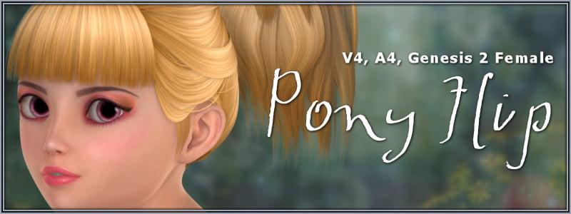 Pony Flip Hair