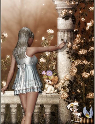 Pure Elegance for Dolly Outfit