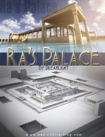 Ra's Palace for DAZ Studio