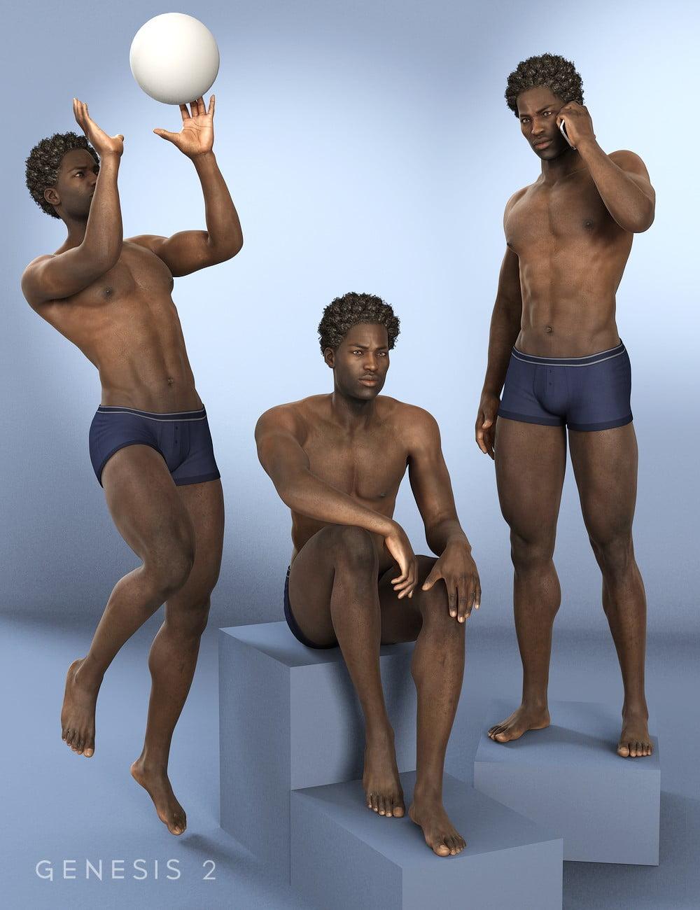 I am Poses for Darius 6