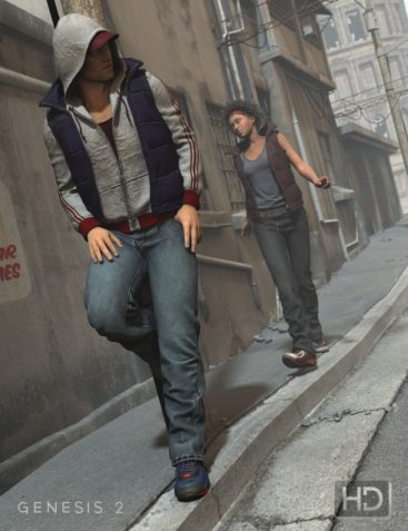 Urban Survivors HD for Genesis 2 Female(s) and Male(s)
