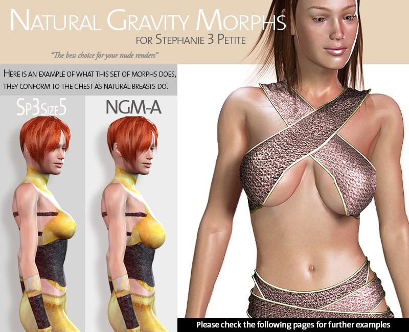 Natural Gravity Morphs for SP3